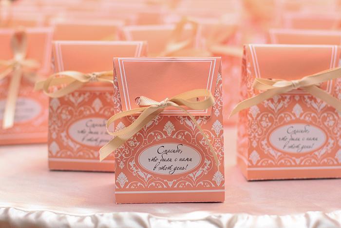 Подарки гостям на свадьбе от молодоженов спб 37